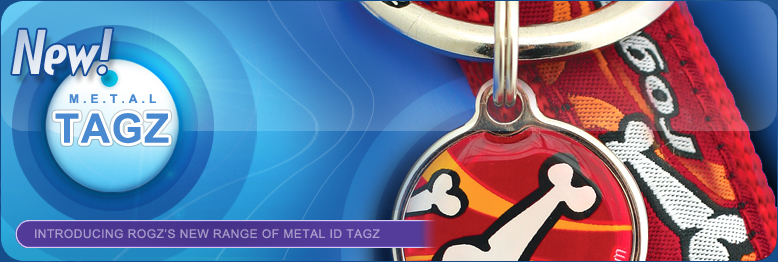 Introducing Rogz's New Range of Metal ID Tagz
